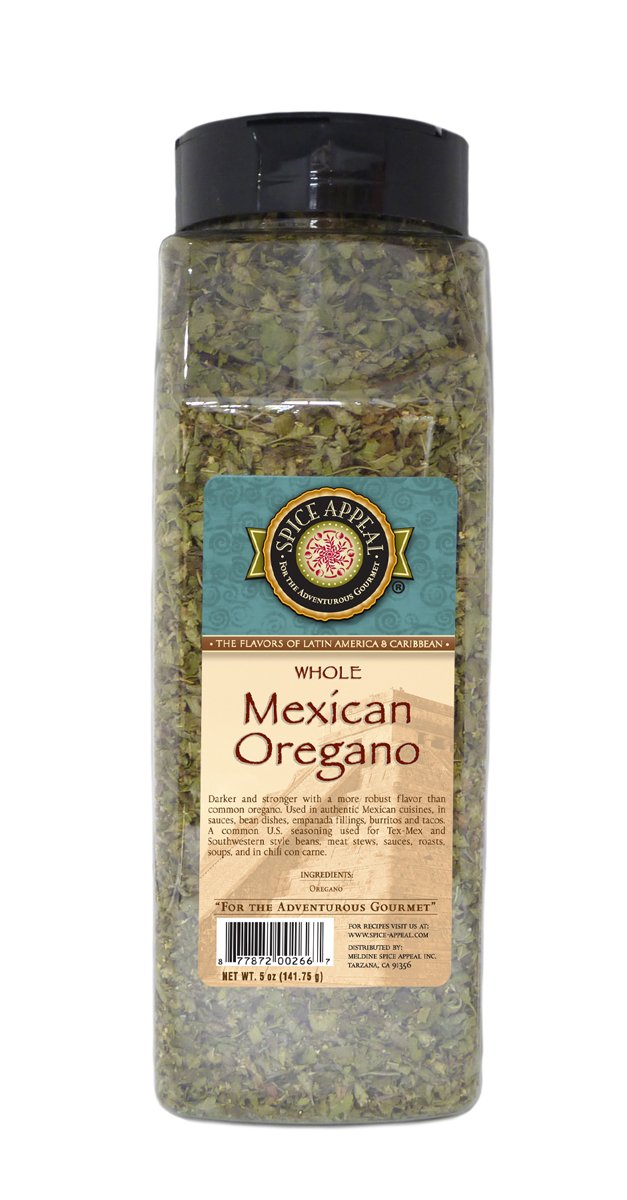 Spice Appeal Mexican Oregano Whole, 5 Ounce by Spice Appeal (Image #1)