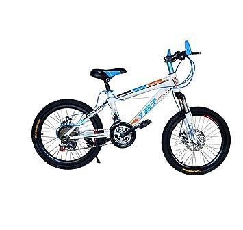 MASLEID bicicleta de montaña de 20 pulgadas para niños y niñas , white