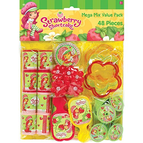 Top strawberry shortcake party favors
