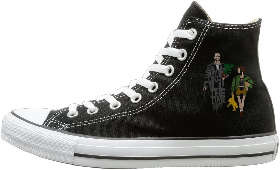 MGJ Leon-The Professional High Top Sneakers Canvas Shoes Cool Sport Shoes Hot Dance Unisex Style