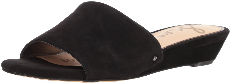 Sam Edelman Women's Liliana Slide Sandal B076T8TNX8 6.5 B(M) US|Black Suede