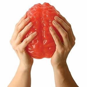 Life-size Edible Gummy Brain