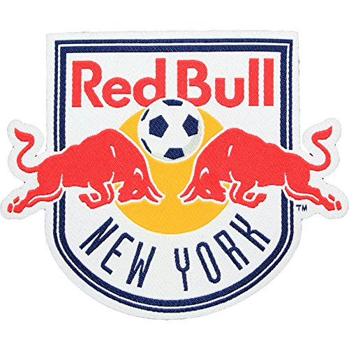 fan products of New York Red Bulls Soccer Team Crest Pro-Weave Jersey MLS Futbol Patch