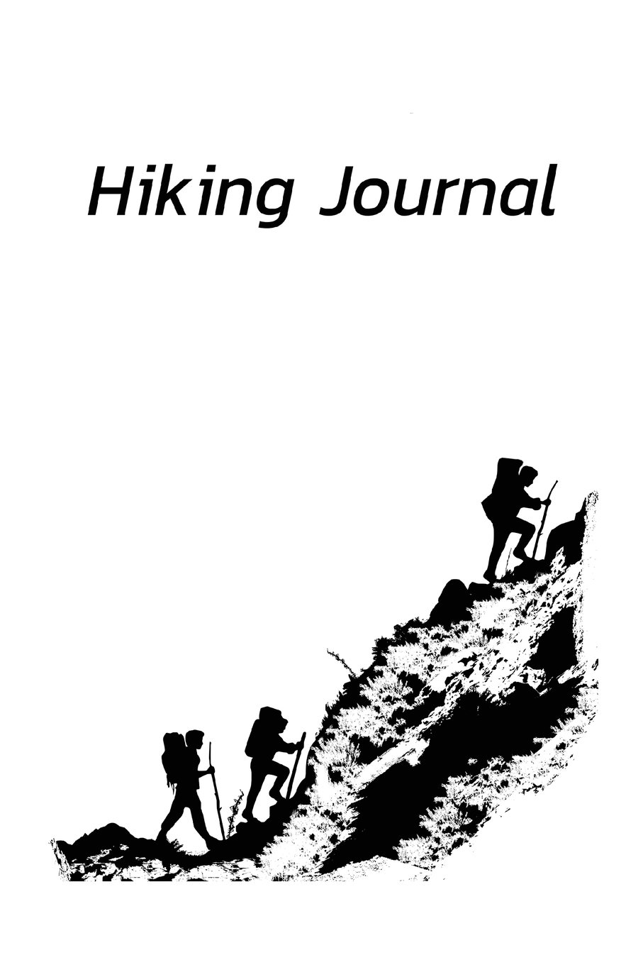 Download Hiking Journal: A nice designed Hiking Journal for Exploring the Outdoors 112 Prefabricated and Lined Pages ebook