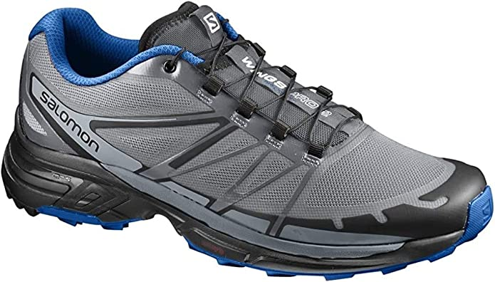 Salomon Wings Pro 2, Zapatillas de Trail Running para Hombre, Gris ...