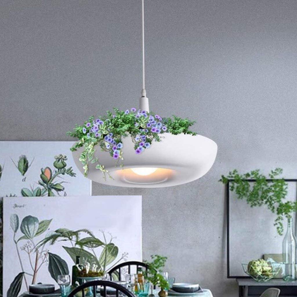 Nordic Flower Pot Restaurant Chandelier White Fashion