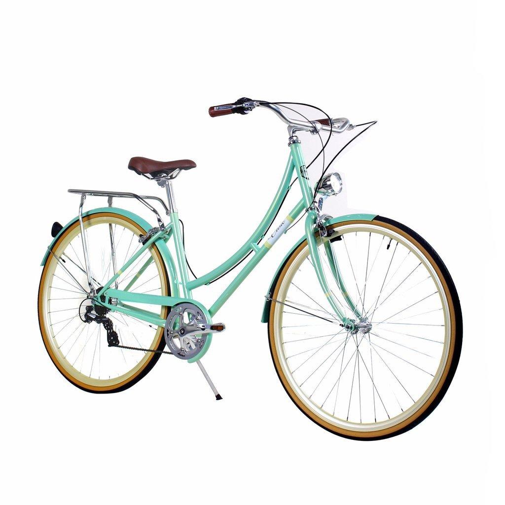 Zycle Fix 44 cmバイク7速度ギアレディースシビックシリーズ自転車 – Minty B01MUBU1RY