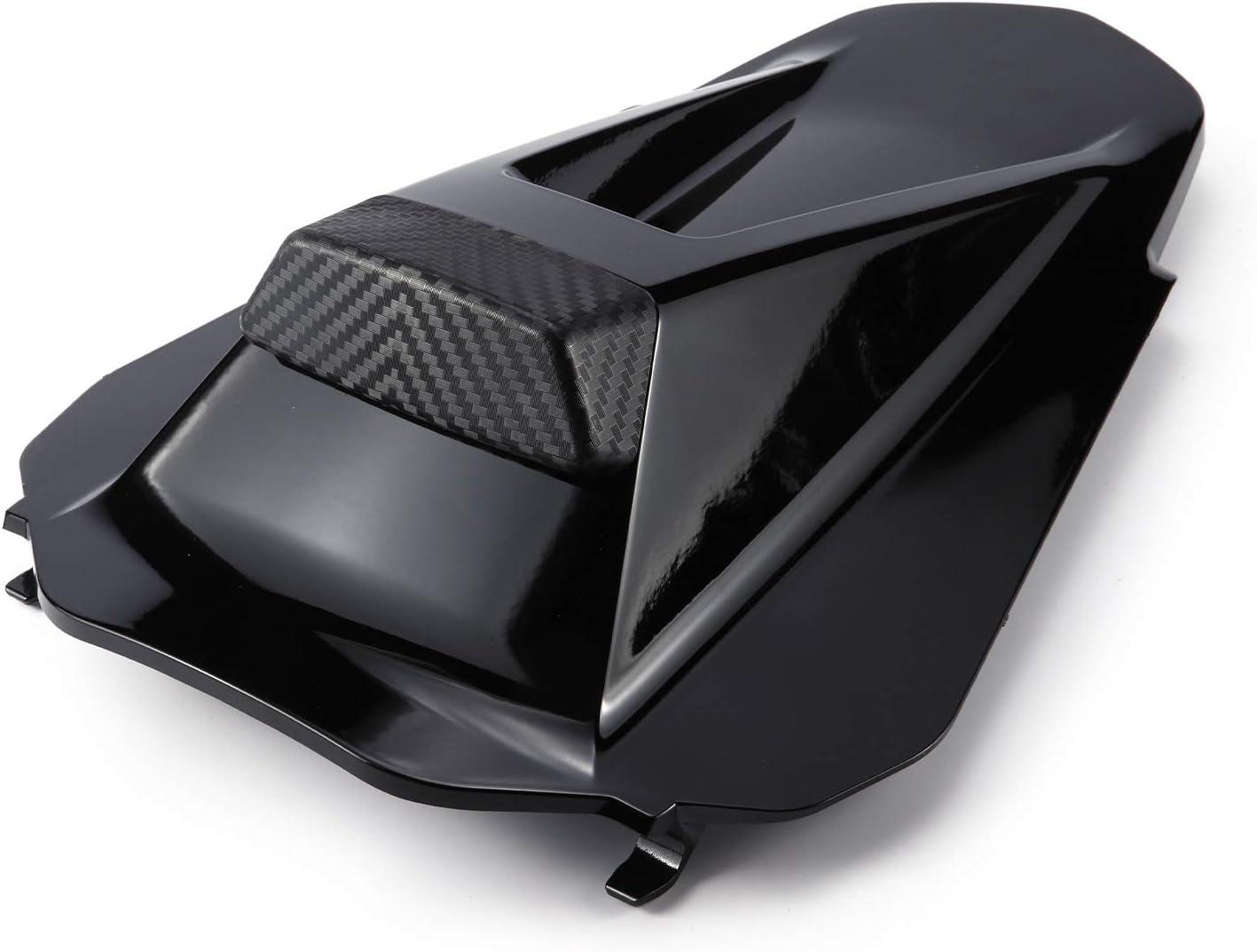 Black Si/ège arri/ère Cowl Car/énage Couverture rigide pour le passager 2018-2020 KTM Duke 790