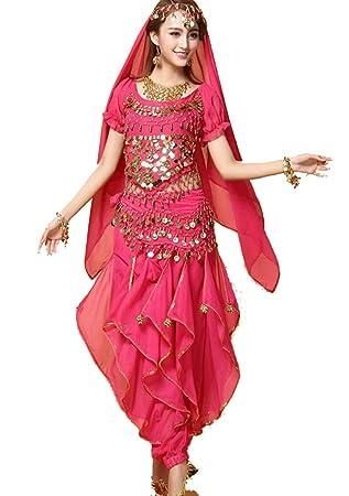 SMACO FaldasIndio Bollywood Dama Danza del Vientre Ropa ...