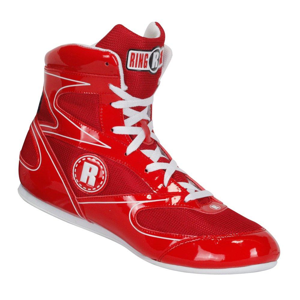 (2, Red) - Ringside Diablo Muay Thai MMA Wrestling Boxing Shoes B009BGWK02