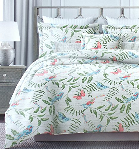 Vintage botanical wild flower print duvet quilt cover by for Wild bedding