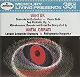 Bartok: Concerto for Orchestra / Dance Suite / Two Portraits, Op.5 / Mikrokosmos (2) excerpts