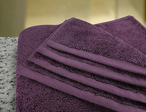 Utopia Towels Soft Cotton Machine Washable Extra Large (35-Inch-by-70-Inch) Bath Towel, Plum