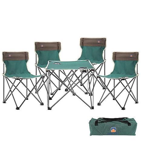 Silla de playa al aire libre juego de mesa y sillas - cinco ...