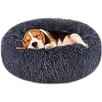 Cama Del Perro Cómodo Dona Cuddler Perro Cama Redonda Ultra Suave Y Lavable Perro Gato Cojín Cama 60 * 26cm