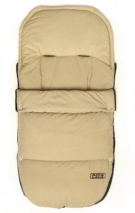 Altabebe AL2300M - 03 - Saco de abrigo para carrito, color beige
