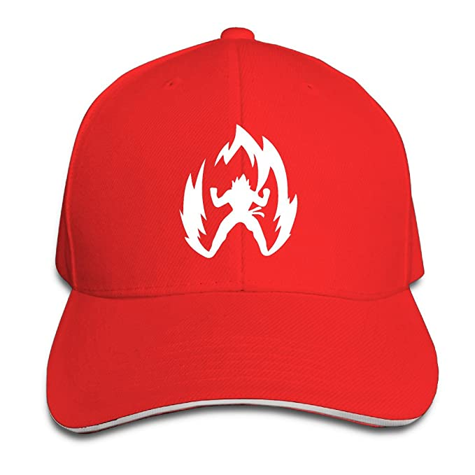 foode Dragon Ball Z Saiyan Simple Logo visera gorra de béisbol Snapback Hats: Amazon.es: Hogar