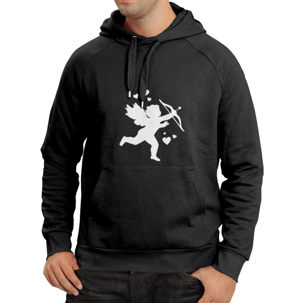 lepni.me Unisex Hoodie Cupids Arrow Valentines Day Family and Couples Outfits