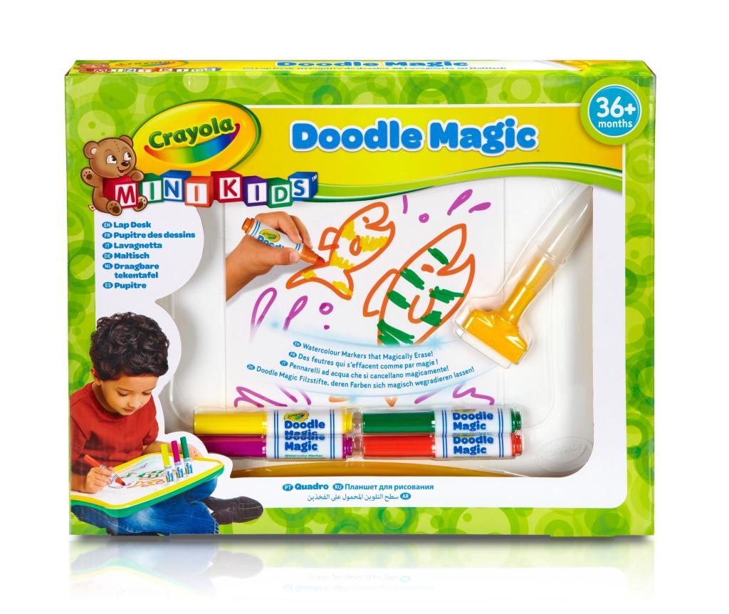 Crayola Mini Kids 81 1969 E 000 Kit De Loisirs Cr Atifs Doodle Magic Pupitre De Dessins