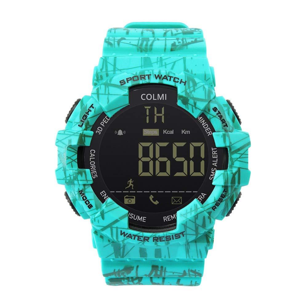 Amazon.com : GGOII Smart Wristband EX16C Camo Smartwatch 5 ...
