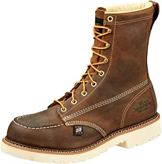 "product image for Thorogood Men's American Heritage 8"" Moc Toe, MAXWear 90 Safety Toe Boot"
