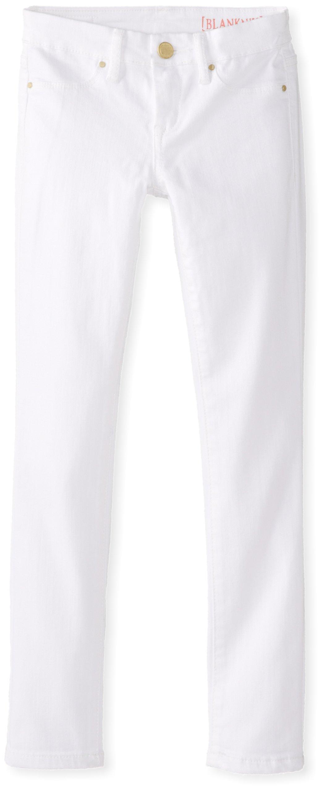 [BLANKNYC] Big Girls' Skinny Jean, White Lines, 10