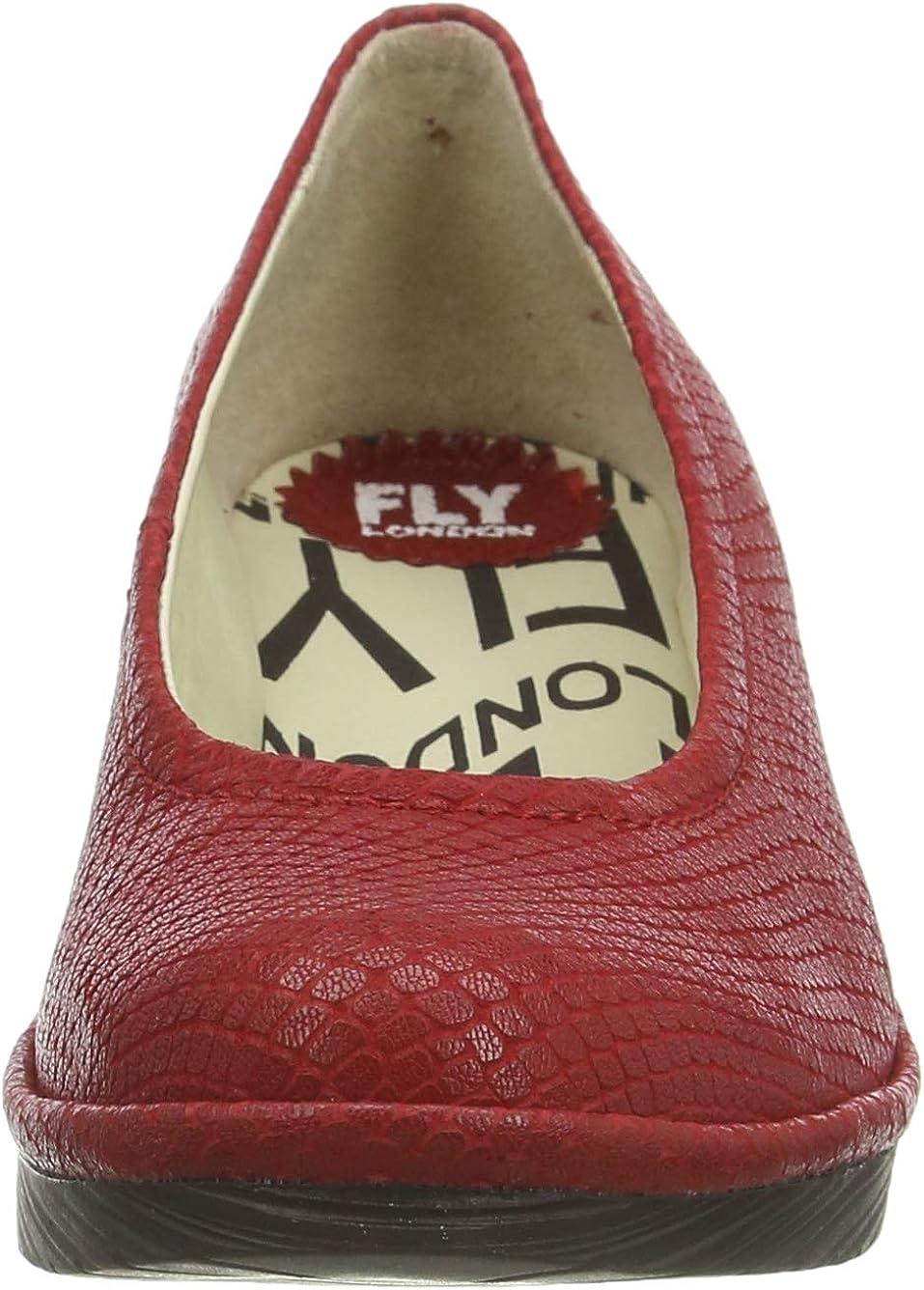 Fly London Pump Zapatos de tac/ón con Punta Cerrada para Mujer