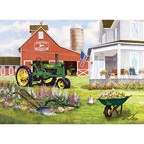 Masterpieces 1000-Piece Jigsaw Puzzle, 19.25 by 26.75-Inch, Springtime Garden