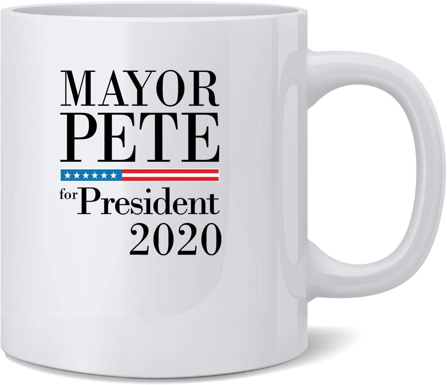 Poster Foundry Mayor Pete for President Buttigieg 2020 Campaign Ceramic Coffee Mug Tea Cup Fun Novelty Gift 12 oz