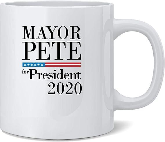 Vote Pete Buttigieg For President 2020 Campaign 12 oz Coffee Mug