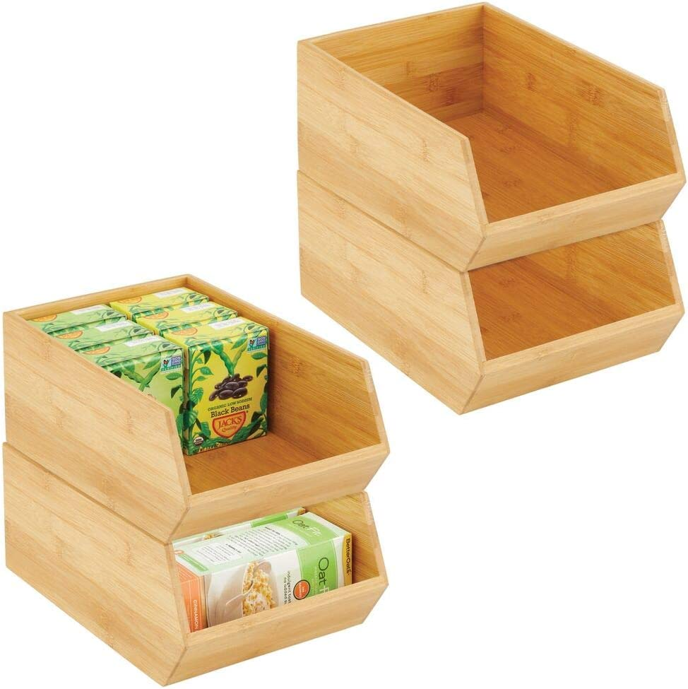 INSTANT PANTRY KITCHEN STORAGE Stackable FREE SHIP Used Apple Crates Set 9
