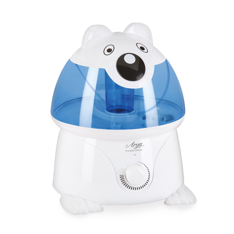 Arya HD 1540Luftbefeuchter für Kinder, Panda, Kunststoff, weiß, 22x 24x 30cm weiß