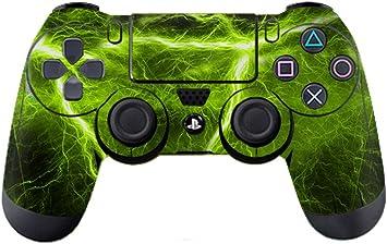 Morbuy PS4 Controller Diseñador Piel para Sony Playstation 4 PS4 Slim PS4 Pro DualShock Mando inalámbrico x 1 (Lightning Green): Amazon.es: Electrónica