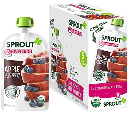 Sprout Organic Blueberry Preservatives Artificial product image