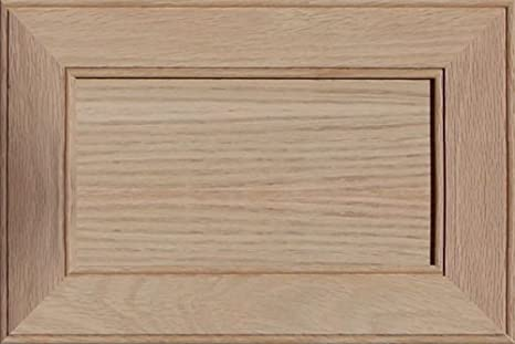 Unfinished Oak Shaker Drawer Front by Kendor 6H x 22W
