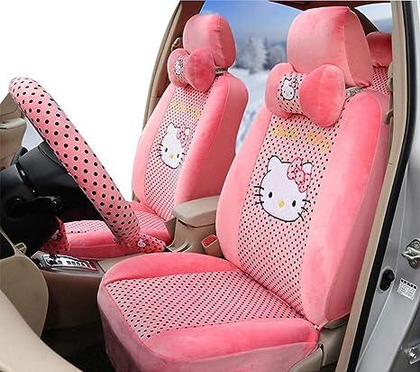 Amazon.com: rmrp88 Hello Kitty Car Seat Cover Full Set Car ...