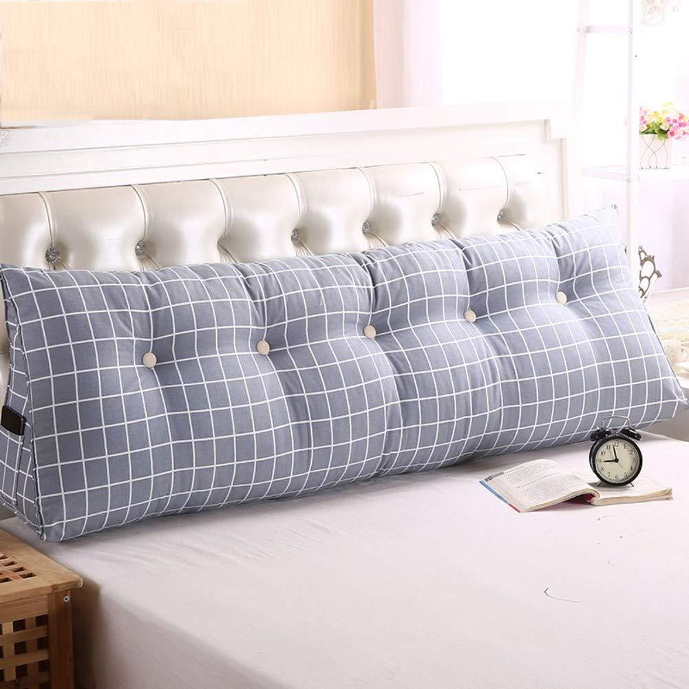正規品販売! ダブル ベッド 三角形のクッション,Pp 綿 ウェッジ ベッド背もたれ,ソフトバッグ 腰椎パッド,測位サポート 枕を読む,リムーバブル 布張りソファ ベッド-K 200x50x20cm(79x20x8inch) B07NQ6L4TZ 90x50x20cm(35x20x8inch)|E E 90x50x20cm(35x20x8inch), マシケグン e94804d6