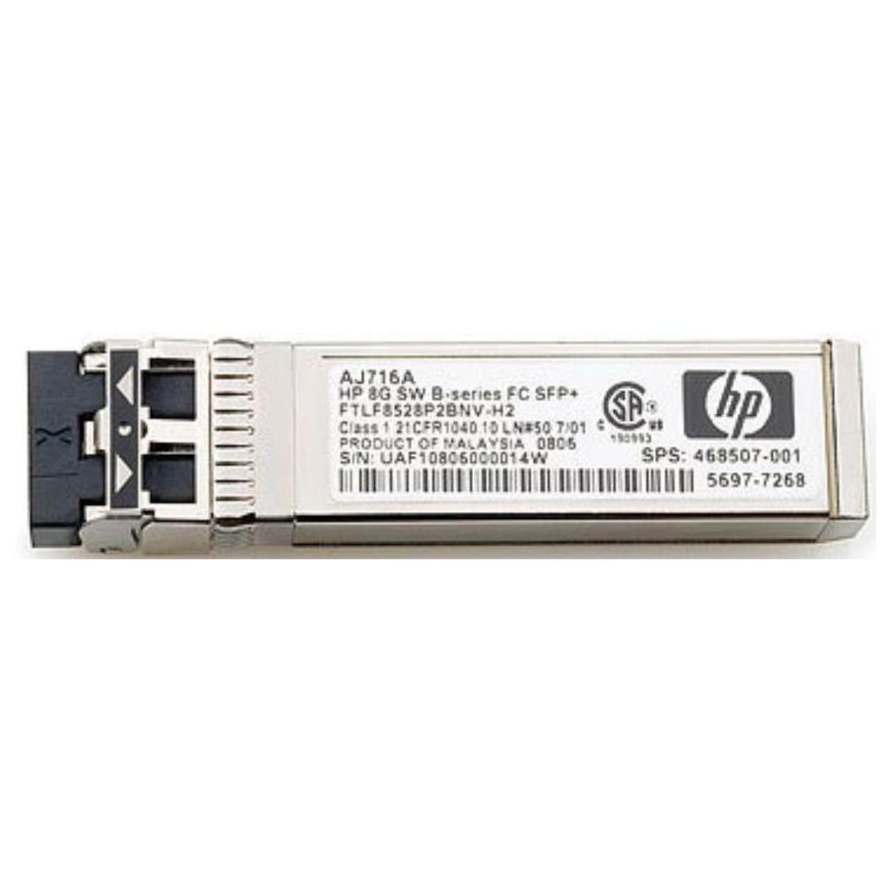 HP MSA 2040 8Gb Short Wave Fibre Channel SFP+ 4-Pack Transceiver