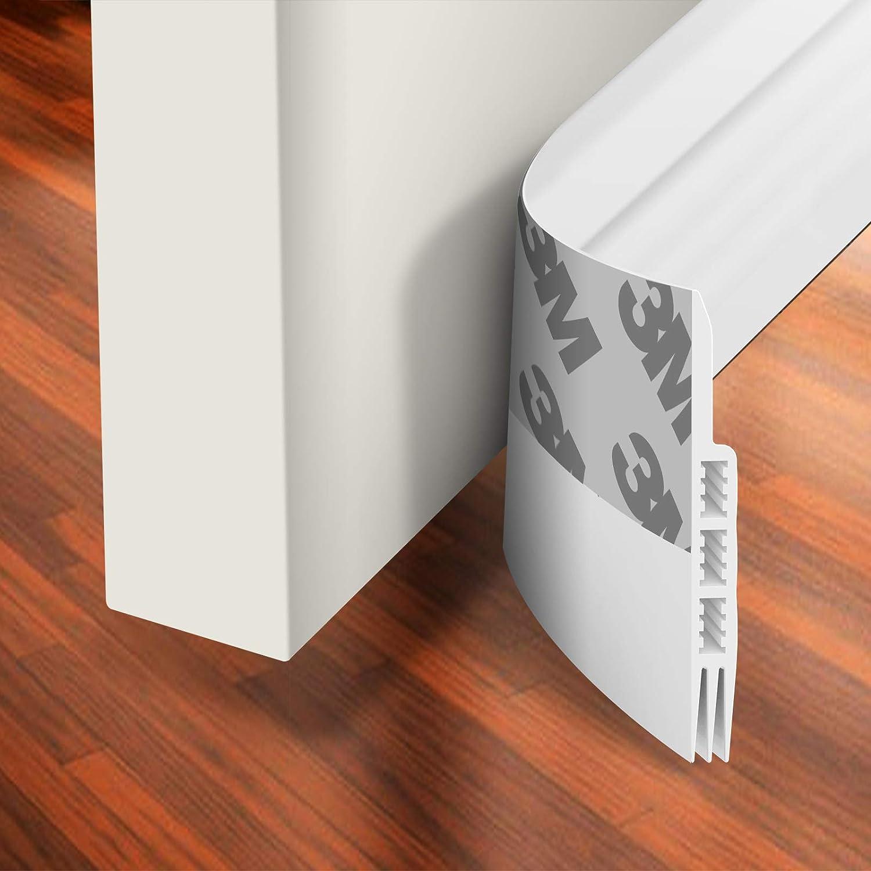 39/'/' Self-Adhesive Weather Strip Under Door Draft Stopper Window Seal Strip