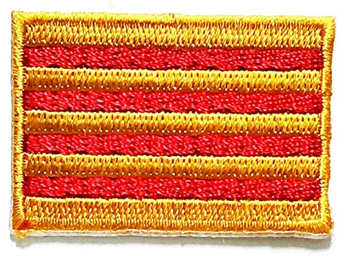 Catalunya Spain Flag Embroidered Patch