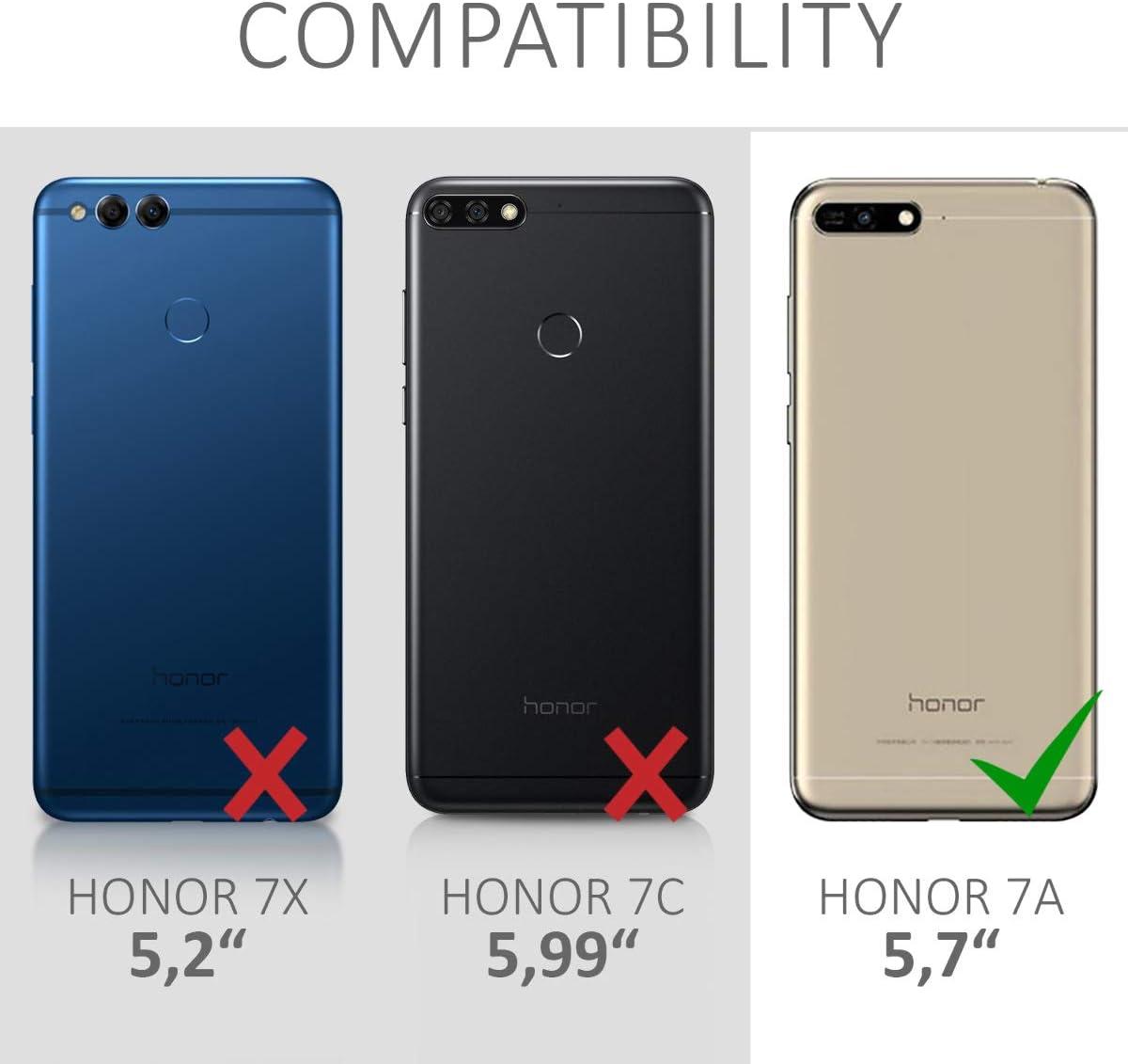 kwmobile Funda con Cuerda para Huawei Honor 7A: Amazon.es: Electrónica