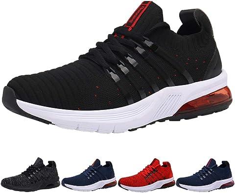 Zapatillas Running Hombre Tenis de Deportivas Casual para Correr Gimnasio Bambas: Amazon.es: Zapatos y complementos