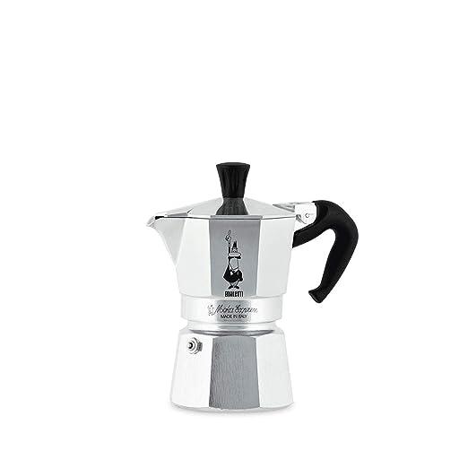 Bialetti Moka Express - Cafetera Espresso para 2 Tazas: Amazon.es ...