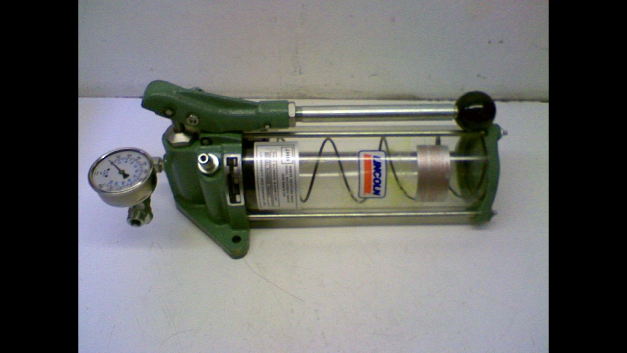 Lincoln 1810 Centro Luber Model Manual Grease Pump Lubrication Sa 200 Service Sy Industrial Scientific