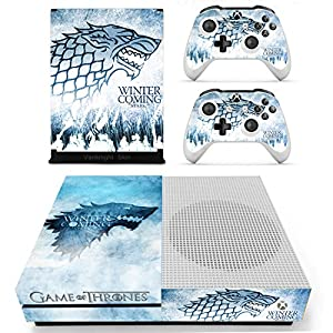 61FD2NiJHCL. SS300  - Vanknight Vinyl Decal Skin Stickers Cover for Xbox One S/Slim Console 2 Controllers  Vanknight Vinyl Decal Skin Stickers Cover for Xbox One S/Slim Console 2 Controllers 61FD2NiJHCL