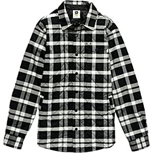 Burton Men's Bellow Flannel True Black Harness Plaid XL