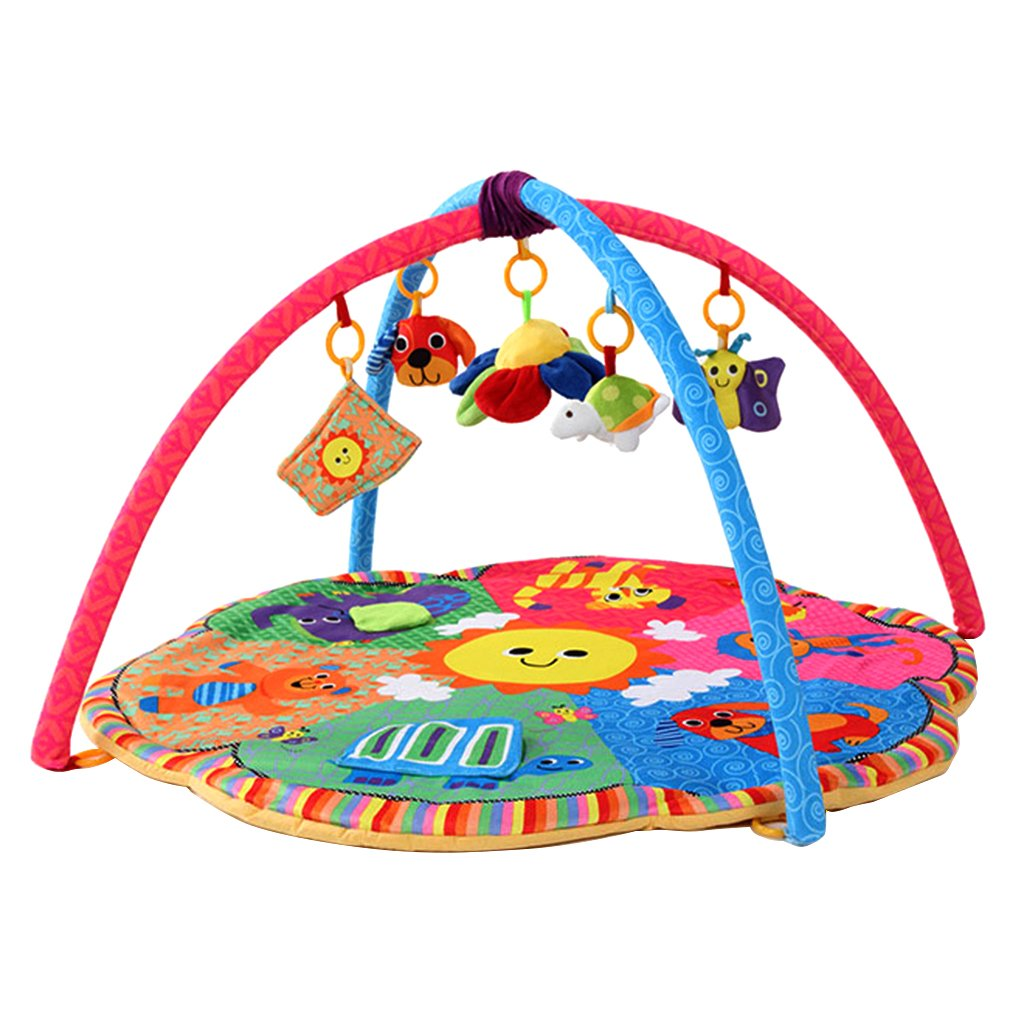 Dovewill Baby Toys Animals Educational Crawling Activity Mat Play Gym Carpet Puzzle Mat - Animals, as described