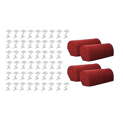 Amazon Com Cuticate Armrest Cover Stretch Fabric Anti Slip