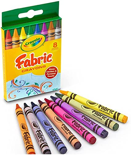 Crayola Fabric Crayons 16 Count