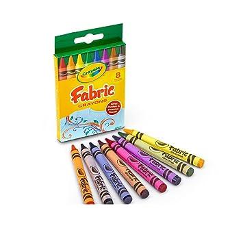 Crayola. 525009 Tela Crayons, 8 colores / caja: Amazon.es: Juguetes ...
